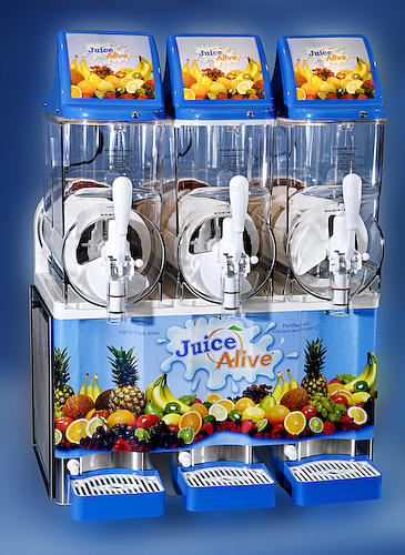 [Image: We also carry the 3-bowl version of this popular machine for purchase.     •Large capacity 3.7 gallon bowls 
